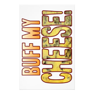 Buff My Blue Cheese Customized Stationery