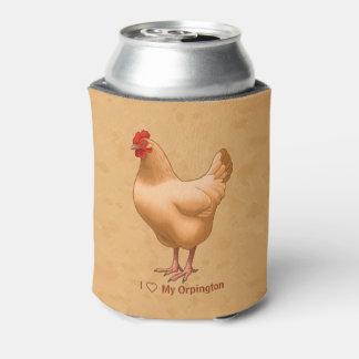 Buff Orpington Chicken Hen Can Cooler