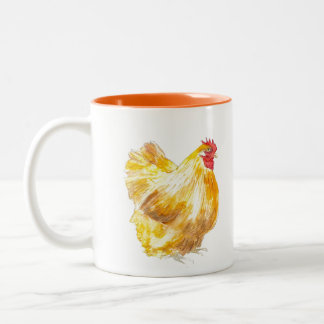 Buff Orpington coffee mug