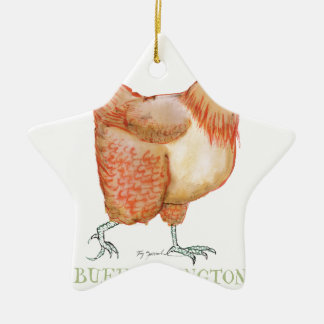 Buff Orpington hen, tony fernandes Christmas Ornament