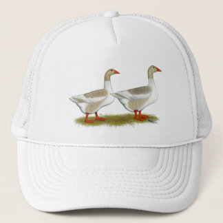 Buff Pomeranian Saddleback Geese Trucker Hat