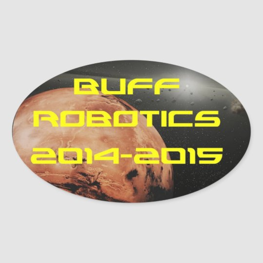 Buff Robotics Sticker