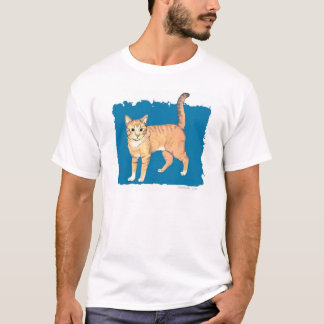 Buff Tabby Cat T-Shirt