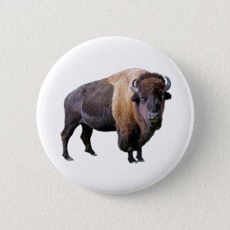 buffalo 6 cm round badge