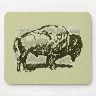 Buffalo Art Mouse Mat