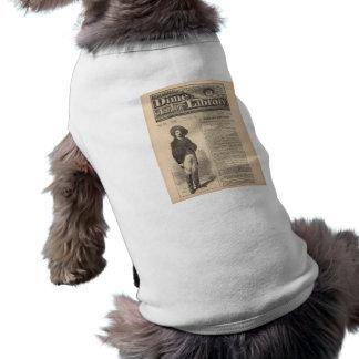 Buffalo Bill - Beadle's Half Dime Library 1879 Sleeveless Dog Shirt