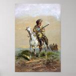 Buffalo Bill Cody, 1872 Print