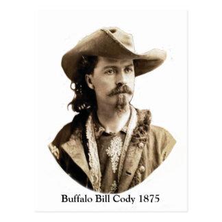 Buffalo Bill Cody 1875 Postcard