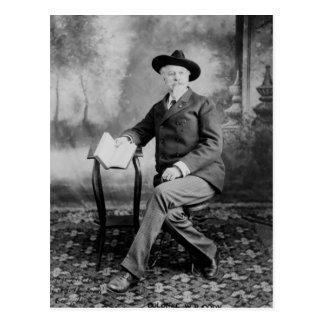 Buffalo Bill Cody Wild West Show Postcard