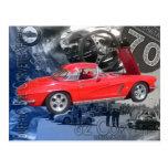 Buffalo Bill Corvette Show Poster Post Cards