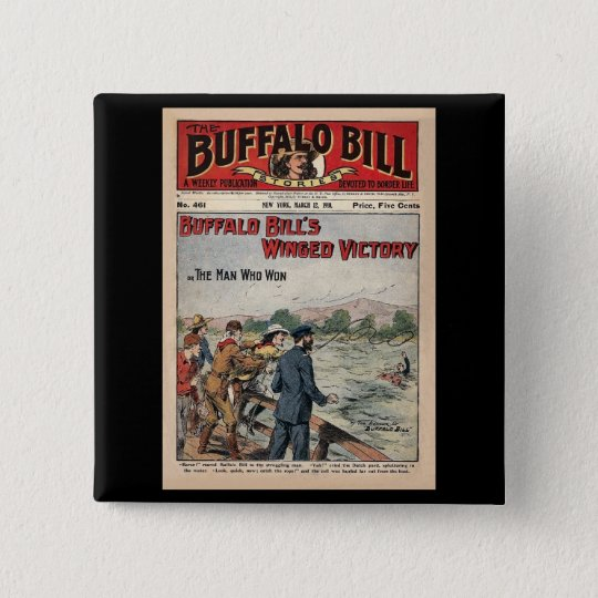 Buffalo Bill Stories - 1910 - Winged Victory 15 Cm Square Badge