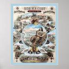 Buffalo Bill ~ Vintage Advertising Poster. Poster