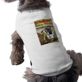 Buffalo Bill Weekly 1917 Devoted to Far West Life Sleeveless Dog Shirt