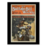 Buffalo Bill Weekly 1917 - The Red Renegade Postcard