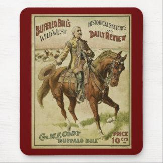 Buffalo Bill Wild West Daily Shows Mousepads