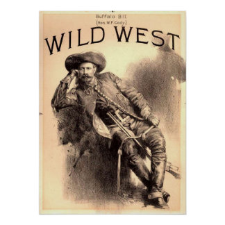 Buffalo Bill Wild West Poster