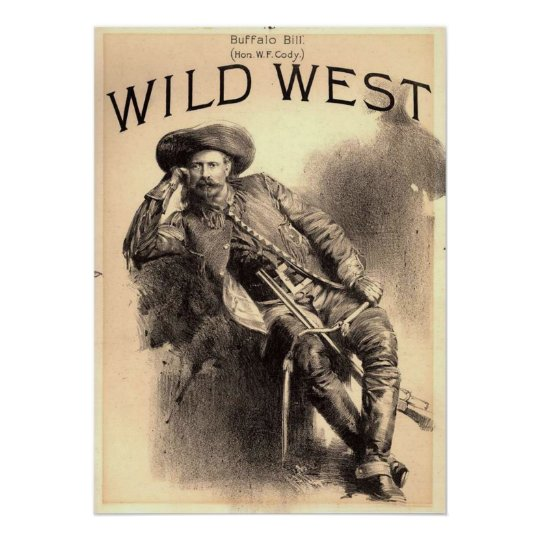 Buffalo Bill Wild West Poster