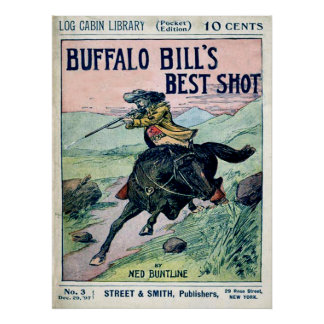 Buffalo Bill Wild West Print