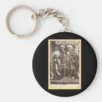 Buffalo Bill's Indians 1890 Key Ring