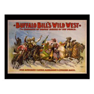 Buffalo Bill's Wild West Cowboys Poster Postcards