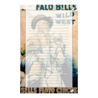 'Buffalo Bill's Wild West', Sells Floto Circus (co Custom Stationery