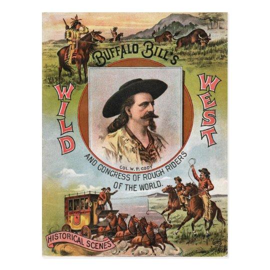 Buffalo Bills Wild West Show 1893 Vintage Ad