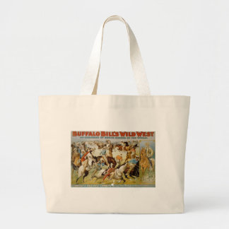 Buffalo Bill's Wild West Show Large Tote Bag