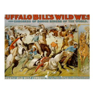 Buffalo Bill's Wild West Show Post Card