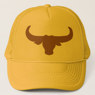 Buffalo Bison Bull Horns Mammalia Animal Trucker Hat