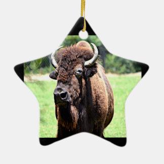 Buffalo Bison Christmas Ornaments
