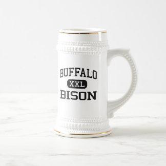 Buffalo - Bison - High School - Buffalo Wyoming Beer Stein