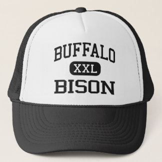 Buffalo - Bison - High School - Buffalo Wyoming Trucker Hat