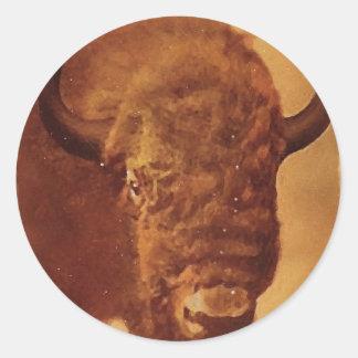 Buffalo Bison Stickers