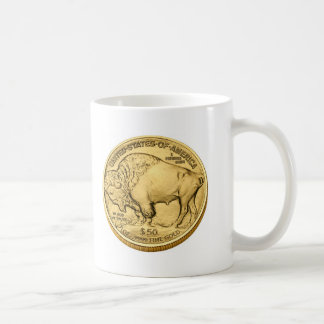 Buffalo Bullion Gold Coin Coffee Mug