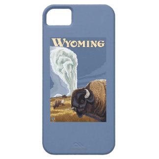 Buffalo by Old Faithful Vintage Travel Poster iPhone 5 Case