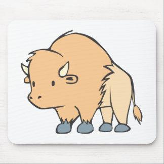 Buffalo Cartoon Mousepad
