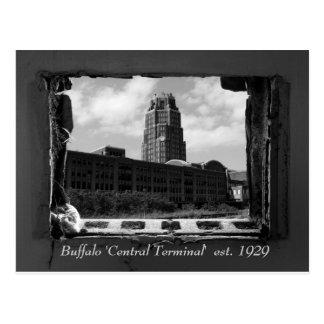 Buffalo 'Central Terminal'  est. 1929 Postcard