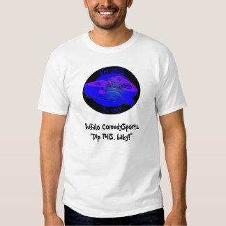 Buffalo ComedySportz Blue Cheezes T-shirt