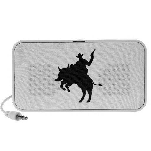 Buffalo cowboy mini speakers