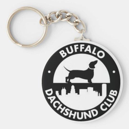 Buffalo Dachshund Club keychain
