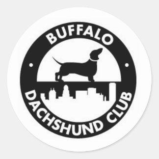 Buffalo Dachshund Club Sticker