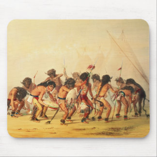 Buffalo Dance, c.1832 Mouse Mat