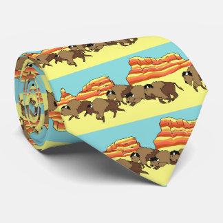 Buffalo Desert Tie