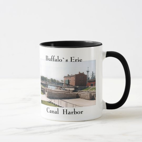 Buffalo Erie Canal Harbour mug