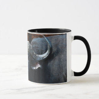 Buffalo fantasy art coffee mugs and cups