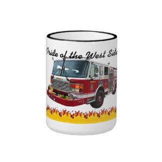 """Buffalo Fire Engine 2 """"Pride of the West Side"""" Mug"""