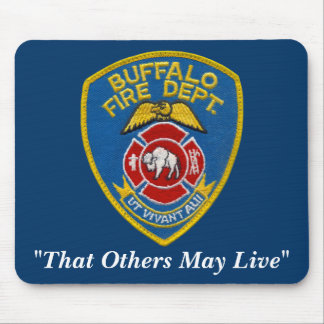 Buffalo Fire Mousepad
