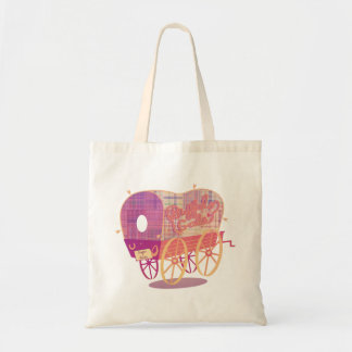 Buffalo Gals Wagon tote bag