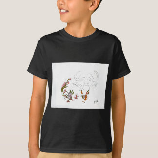 Buffalo goes floral T-Shirt