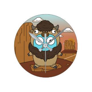 Buffalo Gopher in Desert Clock